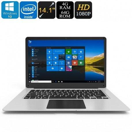 Ponticello EZbook 3 Windows 10 Laptop - Apollo Lago CPU, da 14,1 pollici Display Full-HD, uscita HDMI, 10000mAh, DDR3L 4GB di R