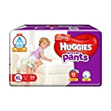 #6: Huggies Wonder Pants Extra Large Size Diapers (54 Count)