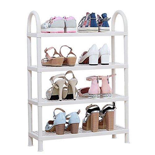 DHMHJH Schuhregal Modernes, minimalistisches 2- bis 5-lagiges Schuhregal Schmales Aufbewahrungsregal für kleine Stiefel Multifunktionales Gepäckregal Hauswirtschaftliches Schuhregal (größe : ()