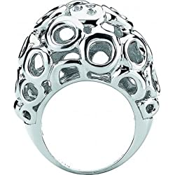 Bali Bubble Diamond Ring Size N