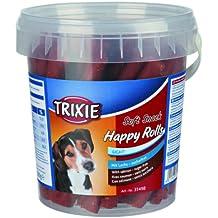 Golosinas para perros 4 Botes de 500 grs Soft Snack Happy Rolls salmon TRIXIE