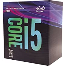 Intel Core i5-8600K 3.6GHz 9Mo Smart Cache Boîte processeur - processeurs (up to 4.30 Ghz), Intel Core i5-8xxx, 3,6 Ghz, LGA 1151 (Socket H4), PC, 14 Nm, i5-8600K