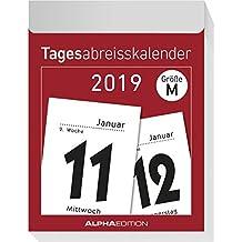 Tagesabreißkalender XL 2019