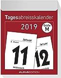 Tagesabreißkalender XL 2019 - ALPHA EDITION