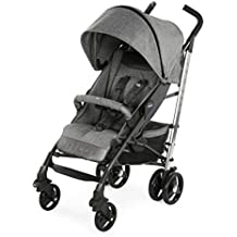 Chicco Liteway 3 S.ED. Denim - Silla de paseo ligera y compacta, 7,5 kg, color denim, rojo, marron, negro o rosa