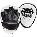 Venum Light Pads (2 Pack) Ultra Light Curved focus mitts (focus Pads mitts,,, Kick Pad Strike Shield