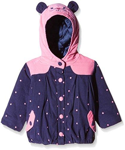 Nauti Nati Baby Girls' Jacket (NAW15-131_Blue_18-24 months)