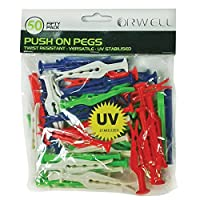 Orwell Push On Pegs 50 Pack