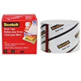 Scotch FF084574 Buchreparatur-Klebeband (76,2 mm x 13,7 m) transparent