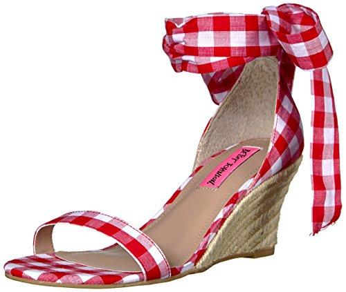 betsey-johnson-jemi-donna-us-6-rosso-sandalo-con-la-zeppa