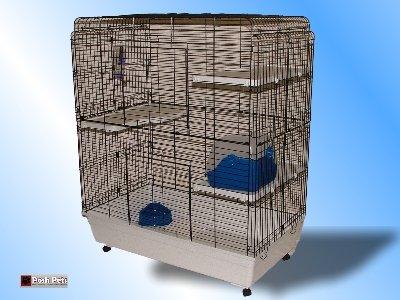 Angel Play Cage Käfig für ausgewachsene Ratten Frettchen Chinchillas und Kätzchen