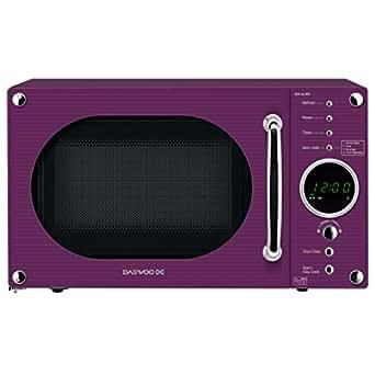 daewoo kor6n9rp comptoir 20l 800w violet micro onde micro ondes comptoir 20 l 800 w. Black Bedroom Furniture Sets. Home Design Ideas