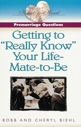 Wert Mate-serie (Pre-Marriage Questions: Getting to