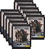 Panini - Justice League Sammelsticker - Tüten, Display, Album (10 Tüten)
