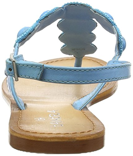 TANTRA - Strap Sandals With Stones, Sandali Donna Turchese (Turquoise)