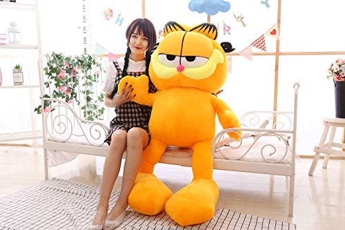 MEIMING1314 Plüschtier,Großes Kreatives Garfield,Geschenk für Kinder Paare 90CM A1 -
