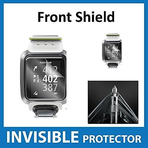 TomTom Golfer protection écran invisible avant Shield Protection de qualité militaire Exclusive à Ace Case