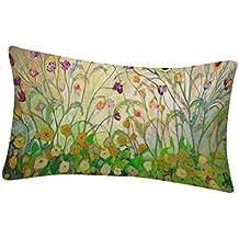 Funda de flores y pájaros,Subfamily® Impresión de aves Sofá cama Decoración del hogar
