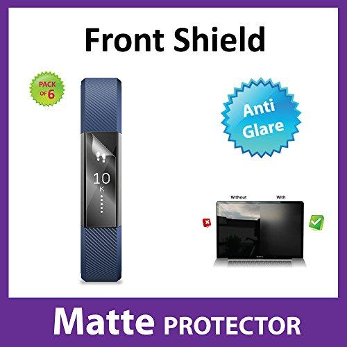Matte, blendfreie Displayschutzfolie in Packung aus 6 Stück, für den kabellosen Fitness-Tracker mit Panzeschutzfilm von Ace Case