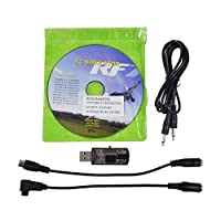 SODIAL(R) USB Flight Simulator Wire Dongle For RC Helicopter Aeroplane RealFlight 22 in 1 by SODIAL(R)