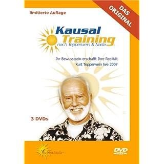 Kausal-Training - Ihr Bewusstsein erschafft Ihre Realität - Kurt Tepperwein live 2007 [3 DVDs]