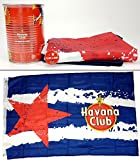 Havana Club Set - Becher / Dose + Flagge + Anstecker Button