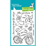 Sello de silicona bicicletay frases Cruise Lif - Lawn Fawn Clear Stamp LF349