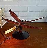 Eeayyygch Persönlichkeit Kreative Retro Stil Eisen Rohr Tischlampe Schlafzimmer Büro Studie Esszimmer Restaurant Bar Cafe Dekorative Beleuchtung (Farbe : -, Größe : -)