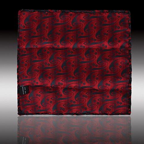 EEF7B01-05 multi motif cachemire mouchoir microfibre Carr¨¦ de poche par Epoint EEF7B03E-Noir