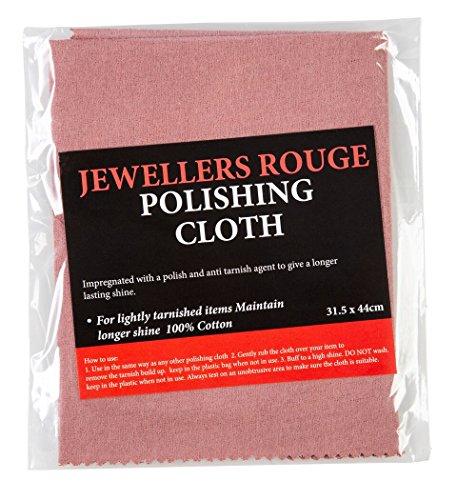 Juwelieren Rouge imprägniert Reinigungstuch-großen 31,5x 44cm MJR Supplies Eigenmarke