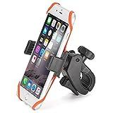 iKross Handyhalterung Fahrrad Smartphone Handyhalter Fahrrad Verstellbar für iPhone, Android Smartphone, GPS und mehr