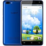 Smartphone Libre CUBOT RAINBOW 2- 3G Smartphone patalla 5.0 pulgadas Libre Android 7.0 (1.3 GHz,MTK6580 Quad Core 1.3GHz 1GB RAM 16GB ROM Cámara 13 Mp+5 MP,WIFI,Bluetooth 4.0),Color Azúl…