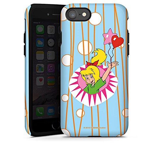 Apple iPhone X Silikon Hülle Case Schutzhülle Bibi Blocksberg Fanartikel Merchandise Hexenparty Tough Case glänzend