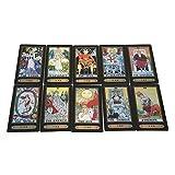 Zerodis Tarot Cards for Beginner Deck Vintage 78 Tarjetas Rider Waite Future Telling Game en Colorful Box Juego de Mesa (Black)
