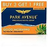 Park Avenue Good Morning Soap For Men, 125g (Pack Of 4)