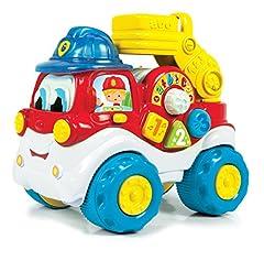 Idea Regalo - Clementoni 14990 - Il Camion dei Pompieri, Gilberto, 9-36 Mesi