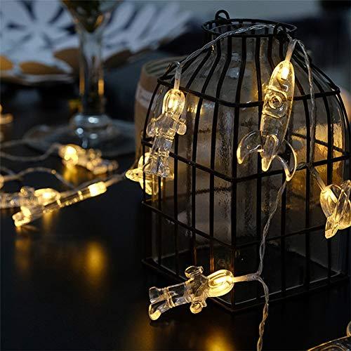 Casa para Cadenas de Festival de Cadena Navidad Exterior Impermeable Guirnalda Luz CreativoChickwin Luces para LED Bebe Creativo Luces Dormitorio zMVpUqSG
