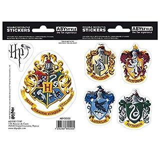 ABYstyle - Harry Potter - Stickers - 16x11cm- Poudlard Maisons
