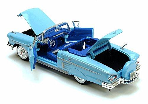 1958-chevrolet-impala-convertible-blue-motormax-premium-american-73267-1-24-scale-diecast-model-car-