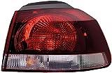 HELLA 2SD 009 922-151 Luce posteriore, Sx, 12V, Tecnologia lampadine, con lampadine