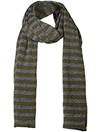 SELECTED 16052457 NETHAN STRIPE FOREST NIGHT ECHARPES, FOULARDS ET COLS Homme FOREST NIGHT UNI