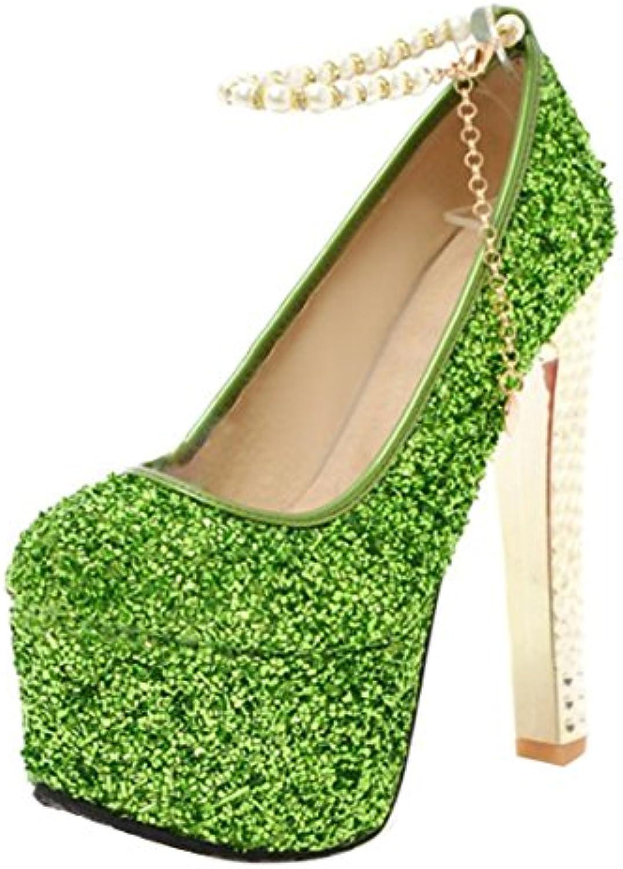 aiyoumei aiyoumei aiyoumei femmes & eacute; chaussures bleu taille: 2 royaume uni, la cour b07d58tt2g parent 030fff