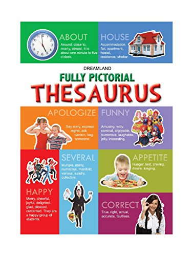 Fully Pictorial Dictionary & Thesaurus (English Edition)