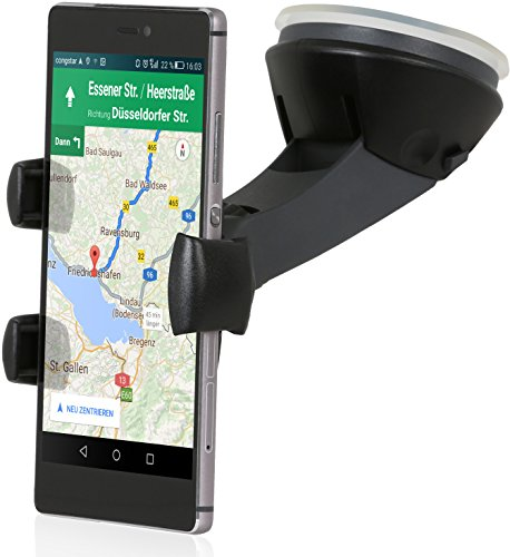 Wicked Chili Pro Mount CLICK V2 - Universal KFZ Halterung für Handy/Smartphone (Arretierungsknopf, Kugelgelenk, Case kompatibel, Made in Germany)