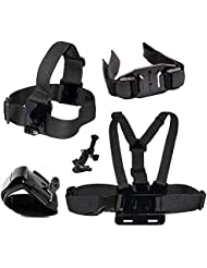 Action Outdoor ® Set of accessories for sports cameras as the