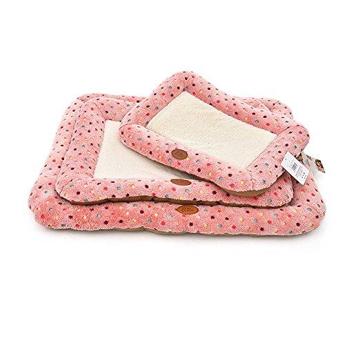 Elite Polka Dot süsse Haustier Bett, verschiedenen Größen, geeignet für alle Arten von Hunde, Winter Bestseller? Pink & Blau