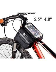 Bazaar Vélo tactile écran tactile sac de tube écran vélo de vélo téléphone mobile sac de coffre