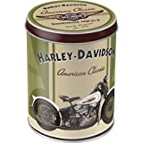 Harley Davidson Knucklehead ronda estaño