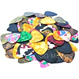 SG Musical - Warner 30 Pcs Guitar pick Brand New Thin Guitar Picks Parts Accessories Celluloid 0.46mm Stringed Instruments