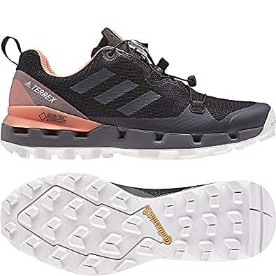 adidas TERREX Fast GTX Surround Schuhe Damen core blackgrey fivechalk coral